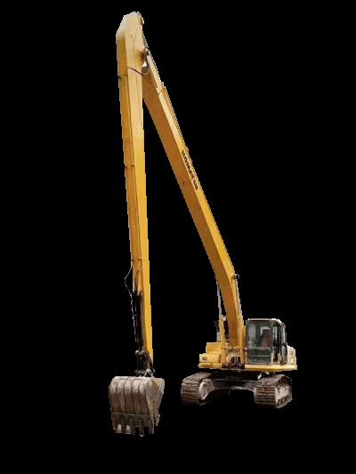 挖掘机二段加长臂