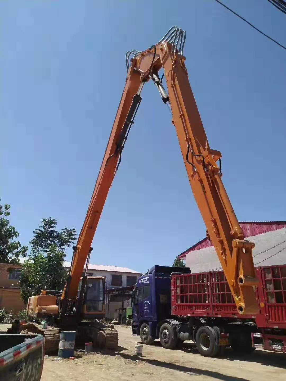 挖掘机三段加长臂